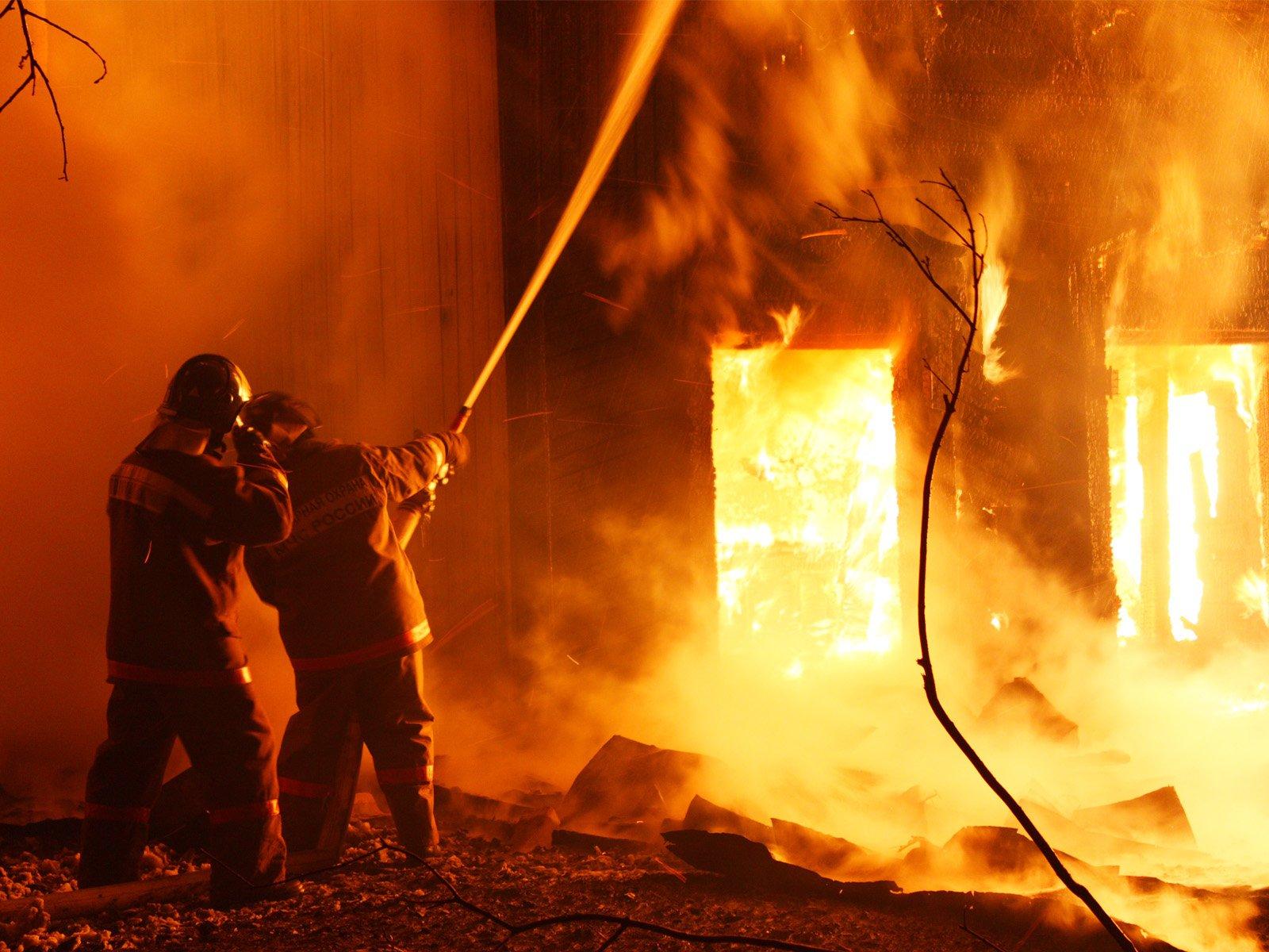 В Моздоке произошел пожар в подвале пятиэтажного дома Материал взят с портала МЧС Медиа